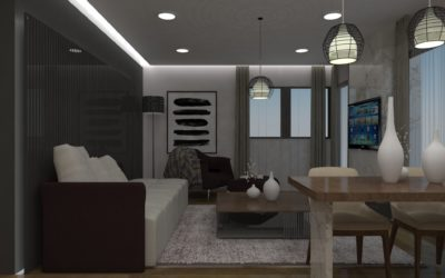 """Interior concept for """"Living and dinning room"""""""