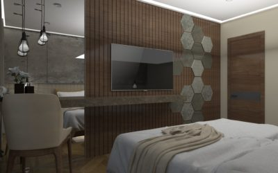 """Interior concept for """"Bedroom"""""""