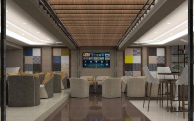 "Interior concept for ""Coffee bar Magic"""