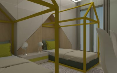 """Interior concept for """"Kids room 2"""""""