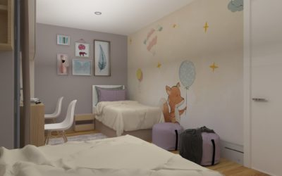 """Interior concept for """"Kids room"""""""