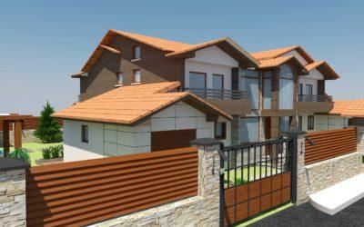 "Exterior concept design for ""Family house"""