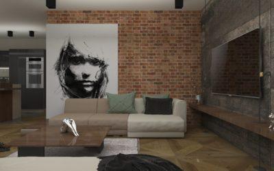 "Interior concept for ""Modern living"""
