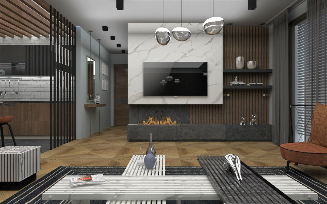 """Interior concept for """"Two family houses"""""""